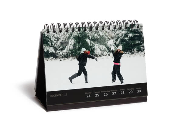 Christmas gift ideas for her - deluxe desk calendar - reasons we love you
