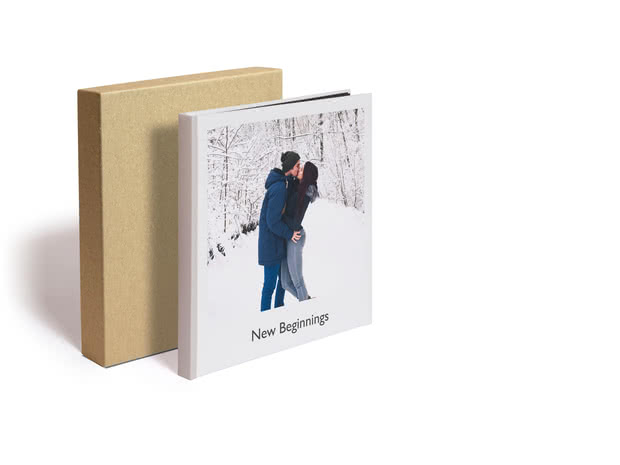Square Premium Photo Book