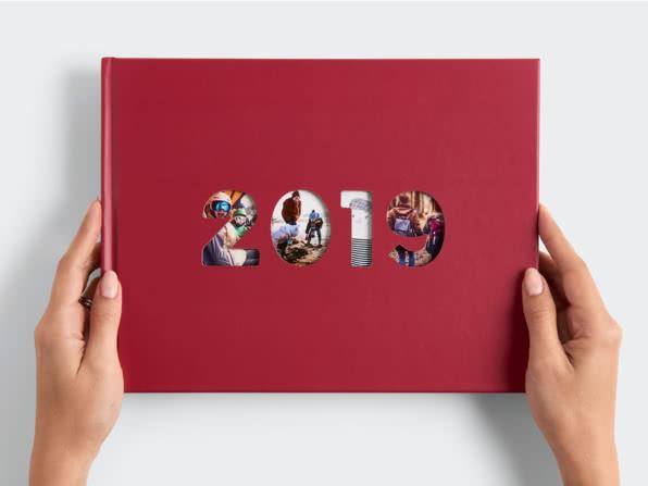Portada azul libro 2019 - Libro de Fotos