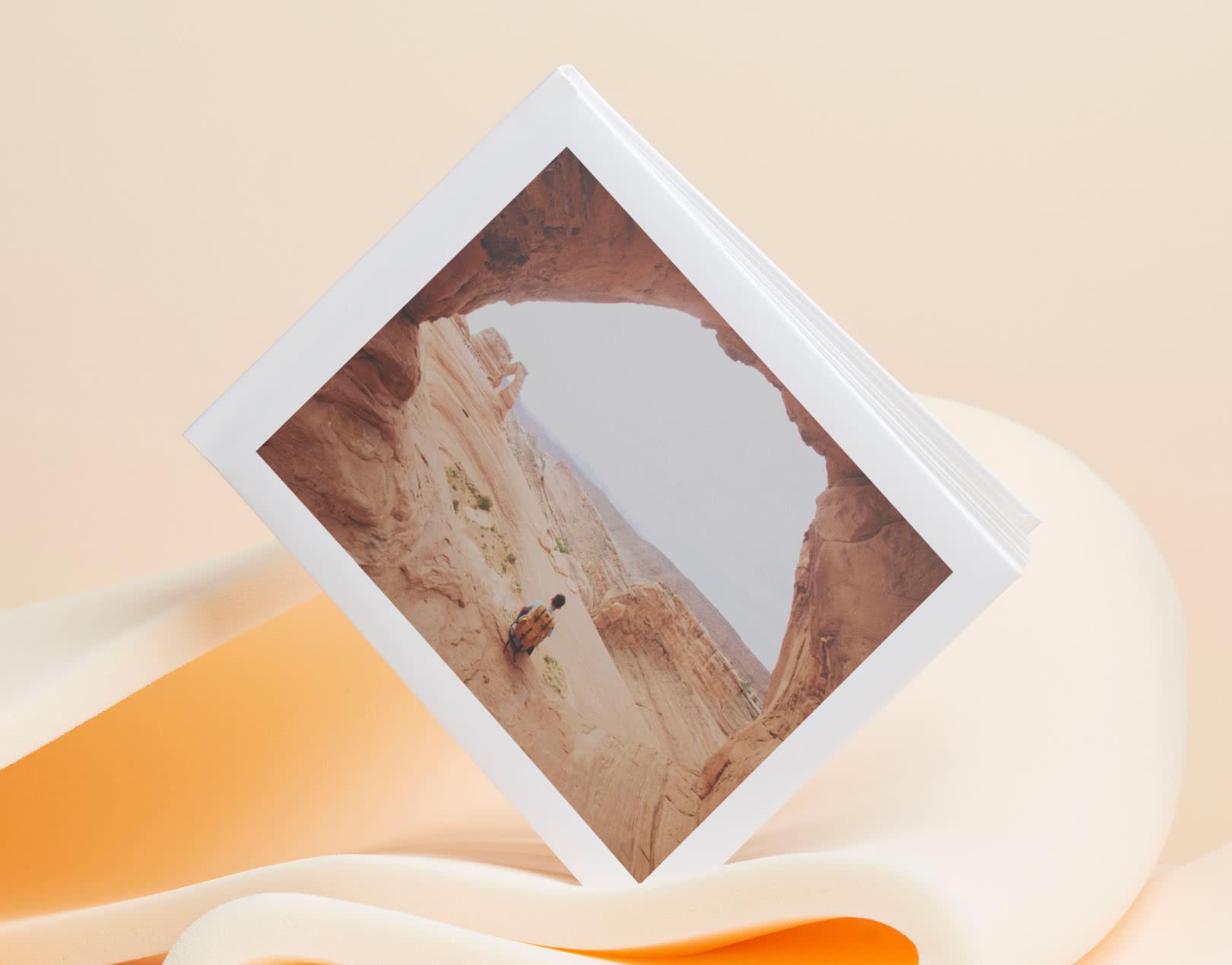 Fotobok Lay Flat A4 – Vadderat omslag