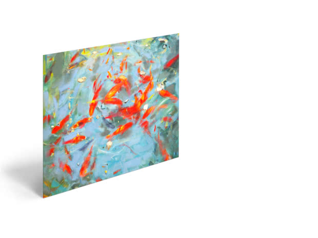 Goldfish by Andrew Macara - Poster