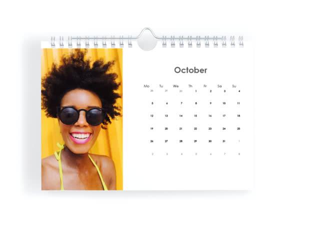 A5 Landscape Calendar