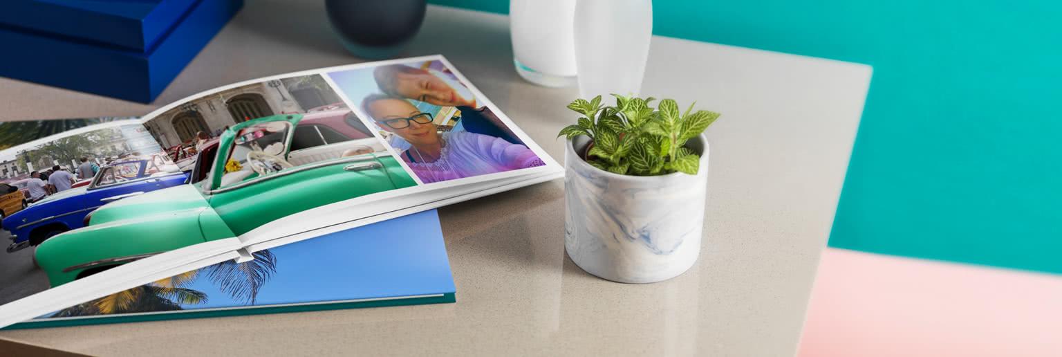 A4 & A3 Premium Hardcover Lay Flat Photo Book