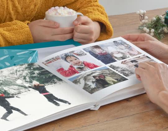 Fotobuch Layflat Deluxe A4