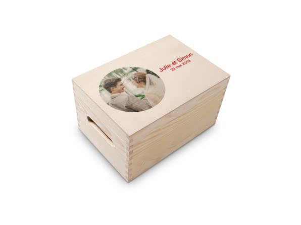 Boîte à Souvenirs en Bois
