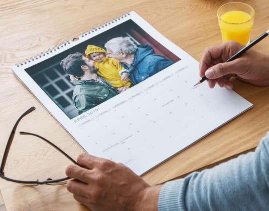 Personlige fotokalendere