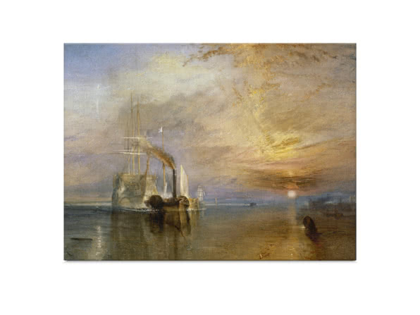 The Fighting Temeraire by J. M. W. Turner