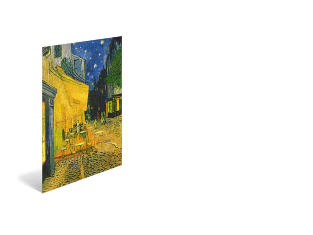 Cafe Terrace by Vincent van Gogh - Poster