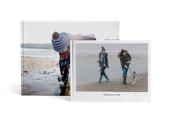 A4 & A3 Premium Hardcover Lay Flat Photo Book