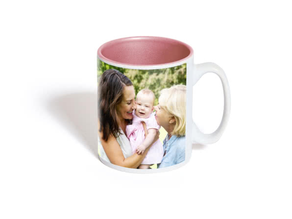 Taza con color