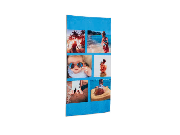 Personalised Beach Towel