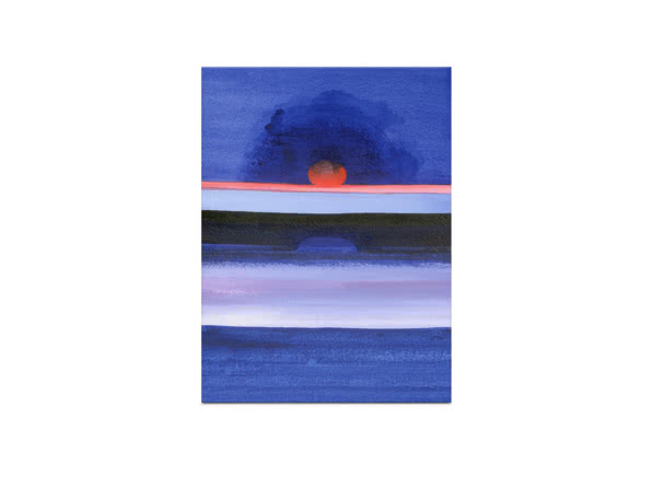 Seascape, Sunset, Helsinki by Izabella Godlewska de Aranda