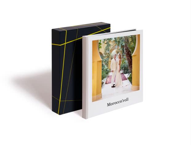Square Premium Photo Book