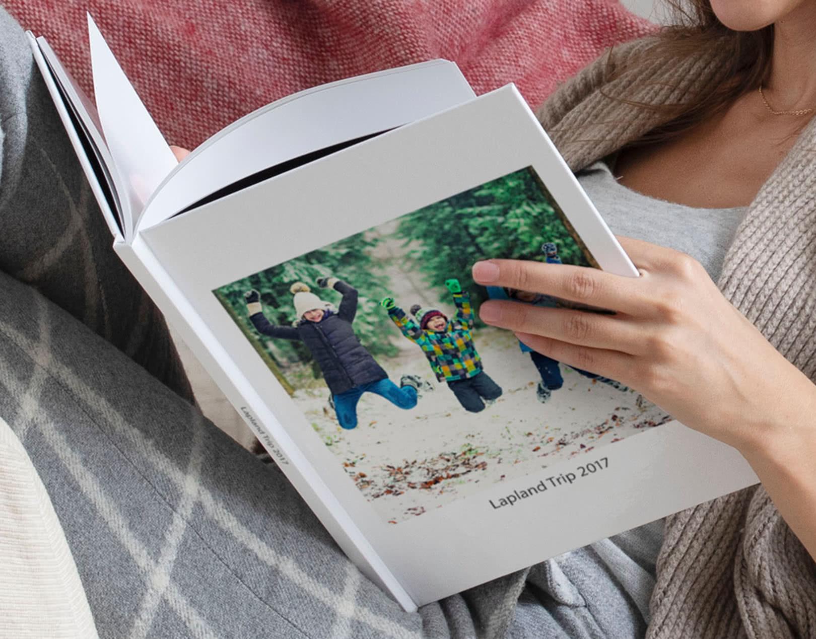 A4 Standard Hardcover Portrait Photo Book