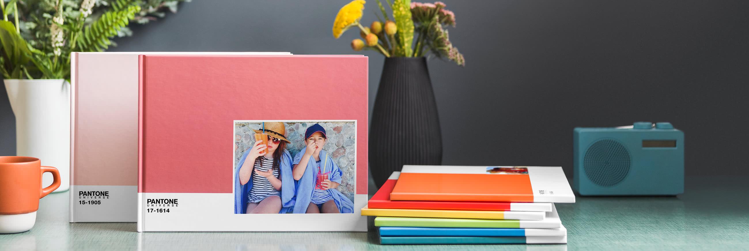Special Edition Pantone Photo Books