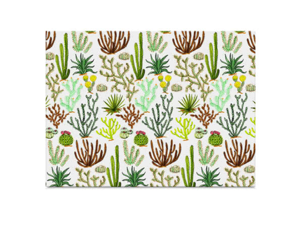 Cacti Pattern by Jacqueline Colley