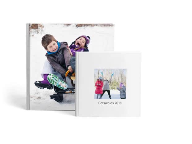 Premium Hardcover Square Lay Flat Photo Books
