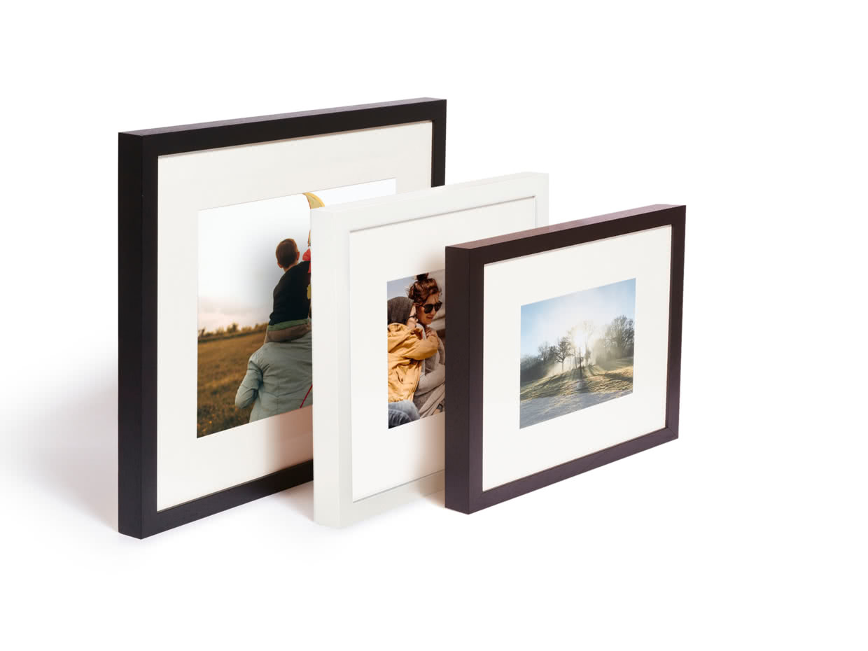"12/"" x 8/"" A4 Personal Photo Picture on Canvas Print DEEP FRAMED"