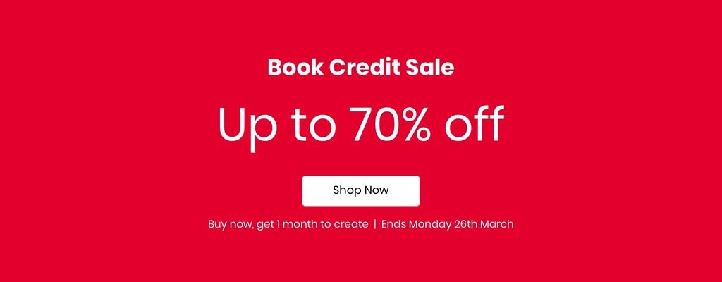 book credit sale
