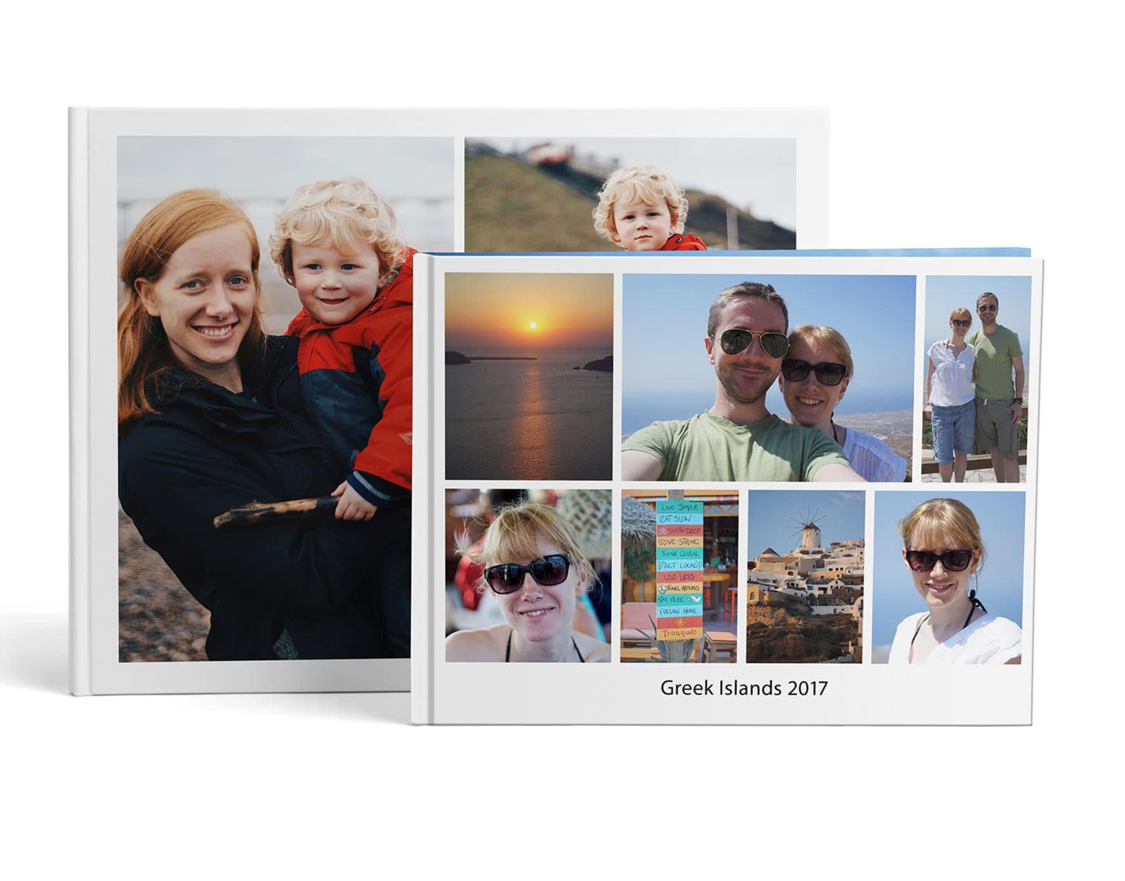 A4 & A3 Personalised Photobook - Photobox