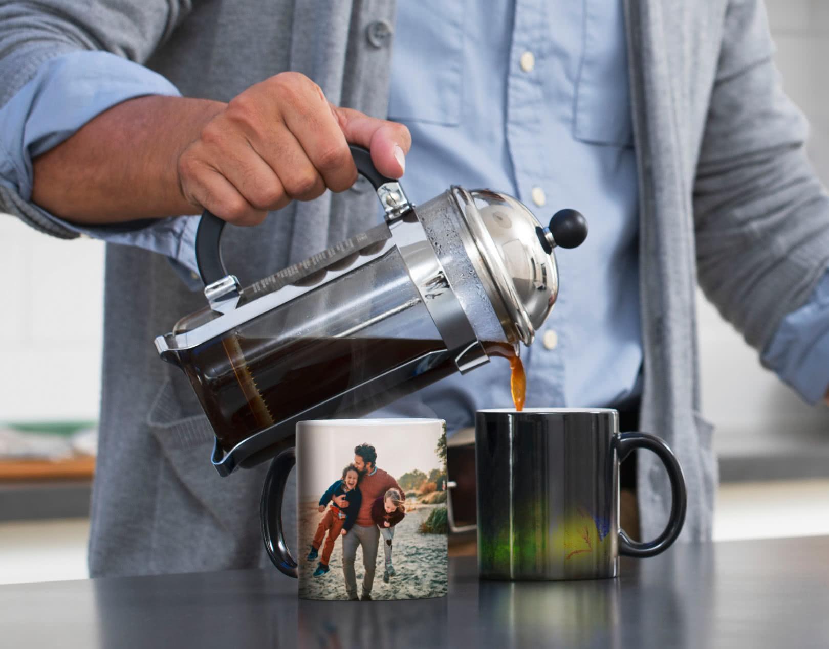 Magic Mug Heat Changing Photos Magically Revealed Photobox