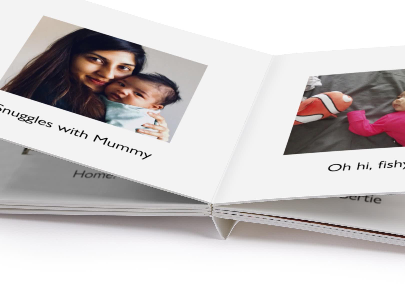 My First Photo Book Create A Custom Baby Book Photobox