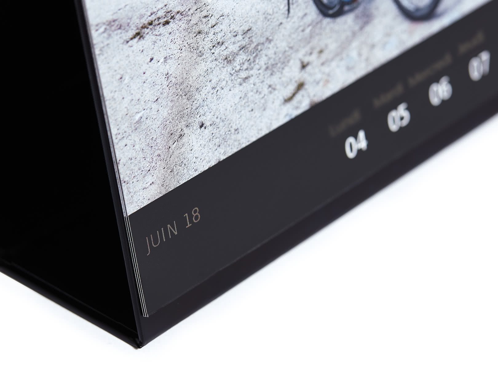 Calendrier bureau luxe photobox