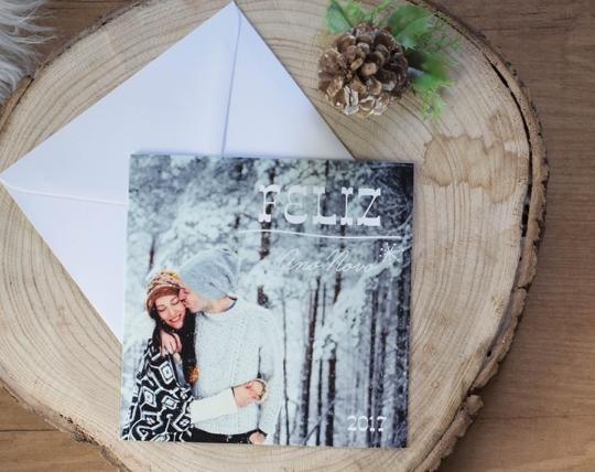 Tarjetas personalizadas para regalos de navidad