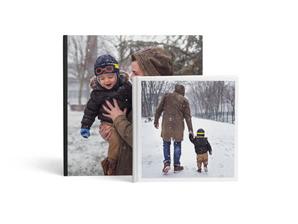 Idées de cadeaux de Noël pour Elle - Livre Photo Carré- Ce que j'aime chez toi