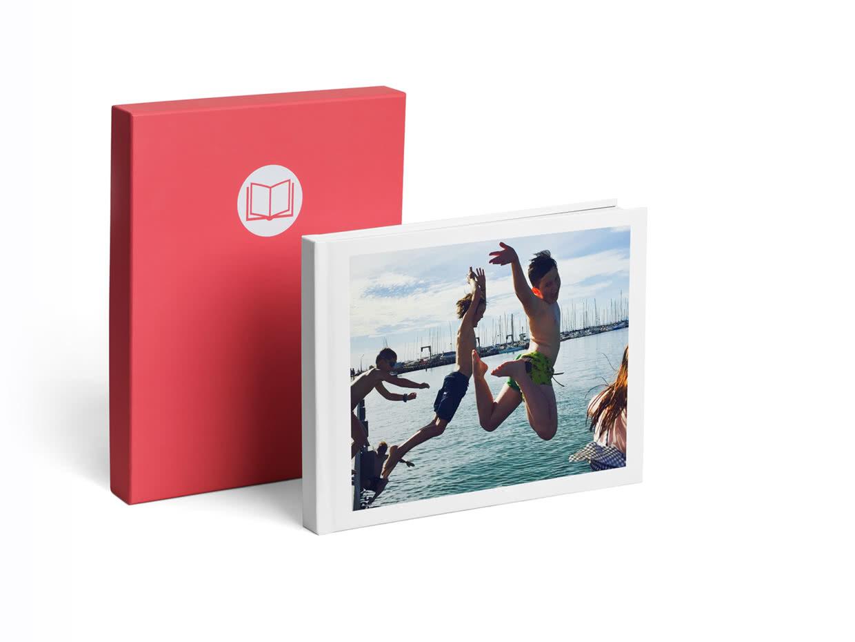 A4 Pro Lay Flat Book - Photobox