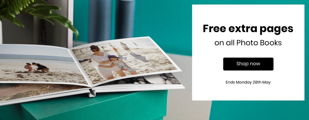Free Extra Pages - on all Photo Books